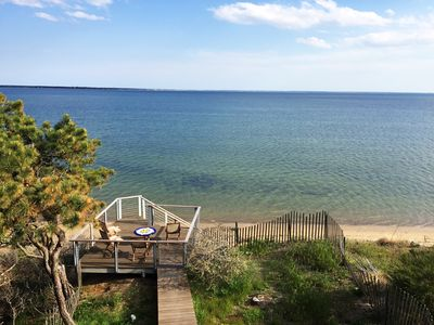 Photo for Modern house with commanding views - Evermore cottage on Powers Landing Beach