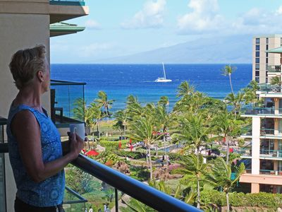 Honua Kai Resort & Spa, Spectacular ocean view from the lanai of Hokulani 738