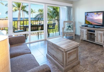 Living Room Area With Beautiful Ocean Views