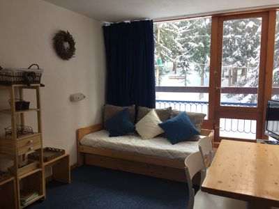 Photo for APARTMENT ANY COMFORT, HEART OF STATION, DEPARTURE AND RETURN SKI TO FOOT