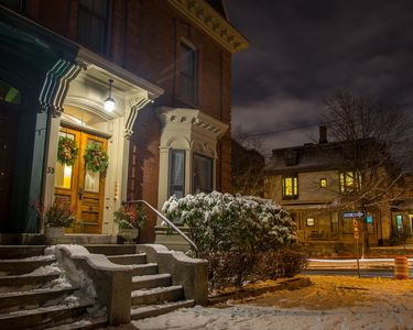 A warm, cozy winter residence, minutes from everything. Credit: Corey Templeton