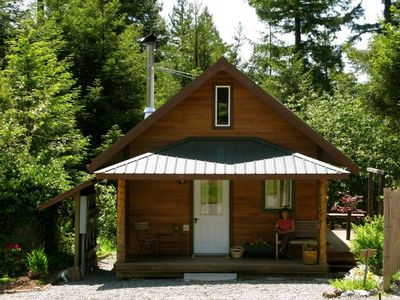 Photo for Arcata---Cozy, Newer Cabin in the Redwoods