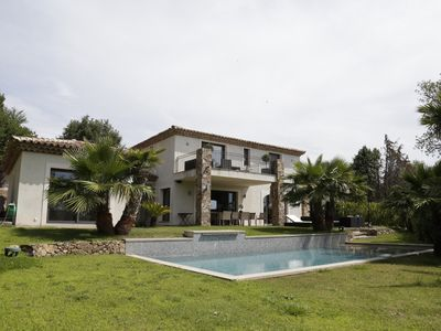 Photo for SUBLIME CONTEMPORARY VILLA 10MN FROM ST TROPEZ AND BEACHES
