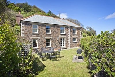 Photo for Traditional Cornish Stone-Built House, With Spectacular Sea Views