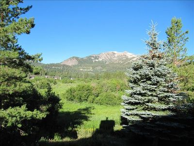 Photo for Exceptional Meadow Mammoth Mountain View Condo