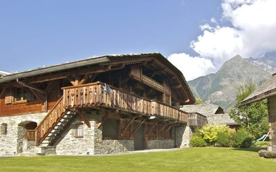 Photo for Large beautiful chalet for 1 or 2 families close to city center and ski resort