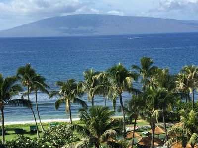 Photo for Maui Kaanapali Ocean View 2 Bedroom 3 bath Villa available April  20-27 2019