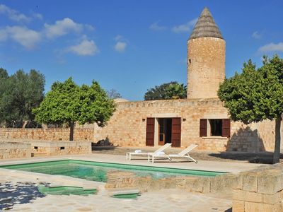 Photo for 2 bedroom Villa, sleeps 4 in es Llombards with Air Con and WiFi
