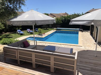 Photo for Charming villa - with trees Garden & Private Pool