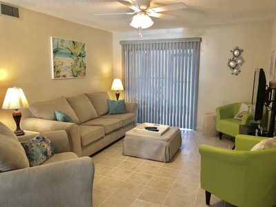 Photo for Beautiful and Spacious Beach Side Condo with WiFi!