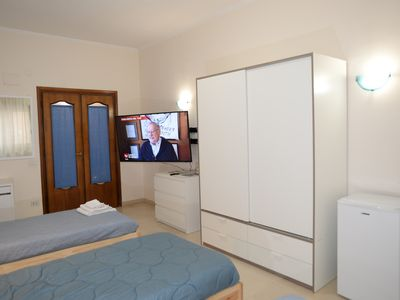 Photo for TRIPLE ROOM WITH BALCONY AND TV SAMSUNG LAST GENERATION