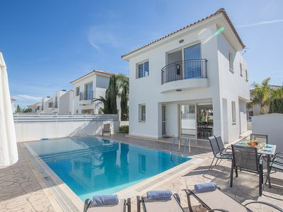 Photo for Villa Samia, Lovely 3BDR Pernera Villa with pool, Close to beaches and amenities