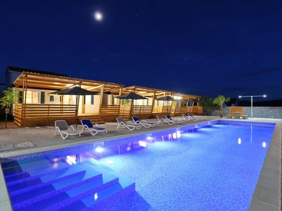 Photo for Family friendly mobile home in Croatia (near Zadar) with pool