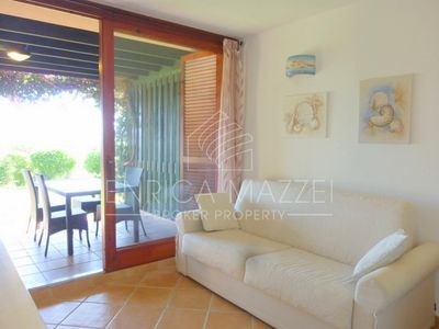 Photo for Tanca Manna sea view apartment one step away from the beach