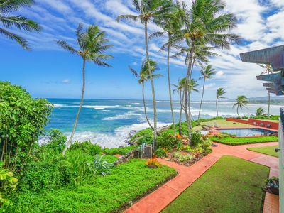 Photo for Luxury 2-story Oceanfront condo w/large lanai, views, pool & in unit hot tub