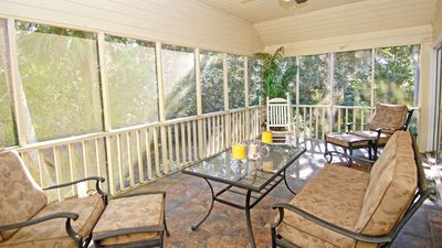 Photo for 3 Bedroom Home On Large Lot, Nestled Amongst Live Oaks And Palm Trees