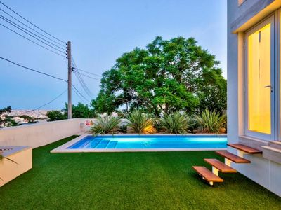 Modern luxury Villa With Private Heated Indoor Pool and Outdoor (heated) Pool