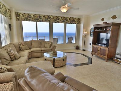 Photo for 3 BR**Gulf Crest End Unit King Size Beds All Bedrooms Bch Chairs included