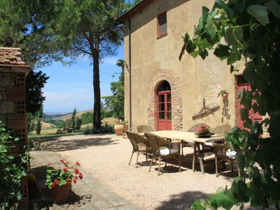 Photo for Luxury Authentic Tuscan villa, quiet location with panoramic views