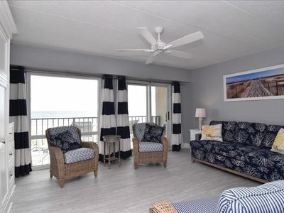 Photo for Ocean Front Studio Condo on the Rehoboth Beach!