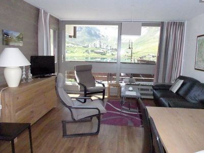 Photo for Tignes 2100: south facing apartment 3 bedrooms, 6 to 7 people, facing the lake