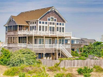 Photo for Entertainer's Delight-Oceanfront, Pool, Hot Tub, Sauna, Outdoor Kitchen, Game Rm