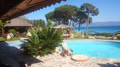 Photo for Charming villa 100 meters from the beach on the legendary road of the Bloodthirsty