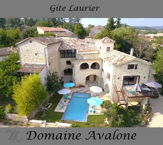 Photo for MAGNIFICENT GITE IN STONE IN THE CENTER OF VALLON PONT D'ARC