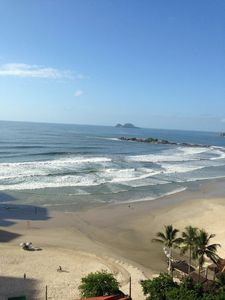 Photo for Rent apartment Guarujá, Pitangueiras - facing the sea