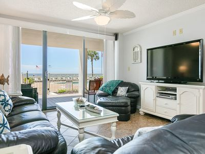Photo for Ground floor, waterfront condo w/ shared pool & private, poolside lanai