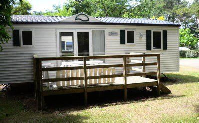 Photo for Camping Les Biches ***** - mobile home 6 people - 6 places (between 0 and 5 years)