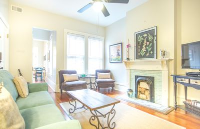 Your bright and sunny Savannah home.