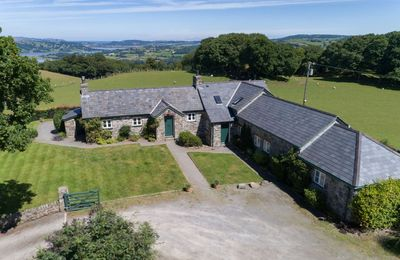 Photo for Situated on the Bodnant Estate, Ty Newydd sleeps up to 8 people plus a travel cot in four bedrooms.