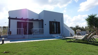 Photo for Villa Anna, 4 person villa with unforgettable views over the sea, mountains, villages