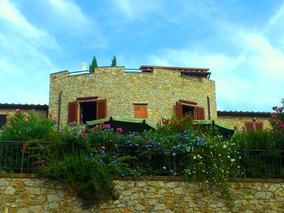 Photo for Comfortable stone village house in Giuncarico