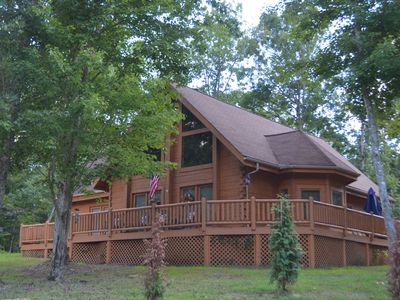 Photo for Mountain Harbor Cabin at Riverwatch
