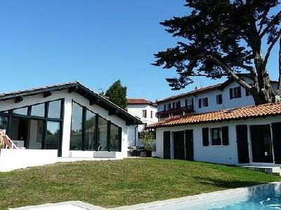 Photo for Charming Villa With Pool And Garden In The Heart Of Guethary
