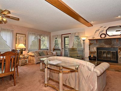 Photo for Cozy, end unit, with lots of light at Deerfield Village Resort
