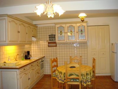 Photo for Apartment at the foot of the Medieval City. Private parking. 4 people.