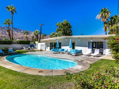 Photo for Mid-Century Wexler 3BR w/ Private Pool, Hot Tub, & Fire Pit