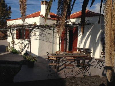 Photo for Casa del baile. Finca in the old Canarian style, tranquility and sea views.