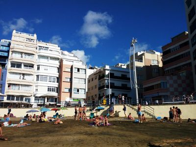 Photo for Cozy apartment a few meters from the beach of Las Canteras