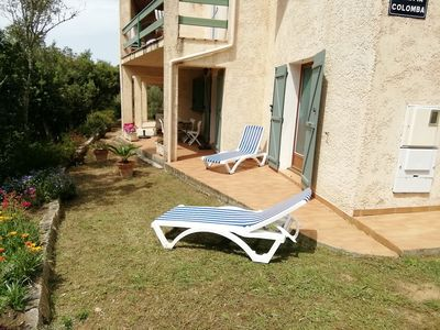 Photo for BEAUTIFUL APART. 80M² well equipped GROUND FLOOR VILLA with pleasant garden