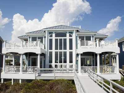 Photo for Surviving Stress: 6 BR / 3.5 BA home in Caswell Beach, Sleeps 18