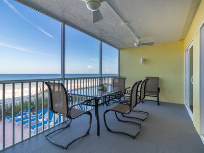 Photo for NEW! Completely Renovated! BEACH FRONT with HEATED POOL ! Gulf View  #102