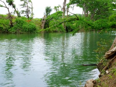 Photo for Beautiful views and the Crystal Clear waters of the Blanco River await you!