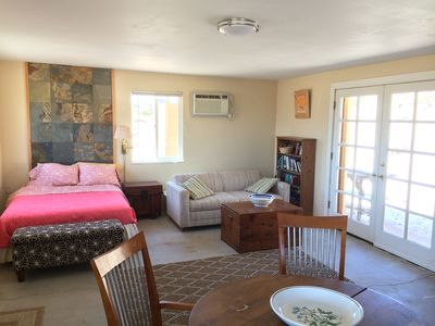 Photo for Private charming cabin near joshua tree national park. Views , privacy, nature