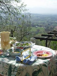 Photo for Traditional Stone House with Beautiful Views, South of Rome