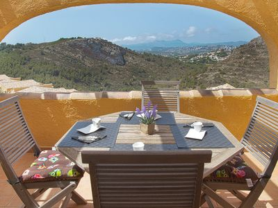 Photo for VELAZQUEZ, Apartment for 4 pax in Benitachell with community pool and free wifi