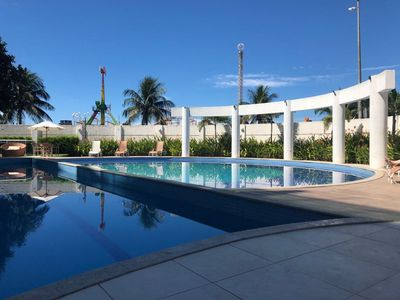 Photo for Luxury Seafront 4-bedroom Apartment - Praia do Forte, Cabo Frio